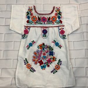 Colorful Traditional Mexican Dress